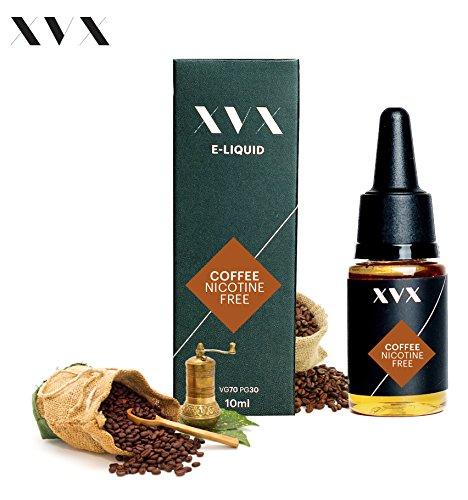 XVX E-Liquid  Kaffee Geschmack  Elektronisches Liquid Für E-Zigarette  Elektronische Shisha Liquid  10ml Flasche  Nadelspitze  Präzise Befllung  Wähle Deinen Lifestyle  Neu Für 2016  Digitaler Rauch  Nikotinfrei  Tabakfrei