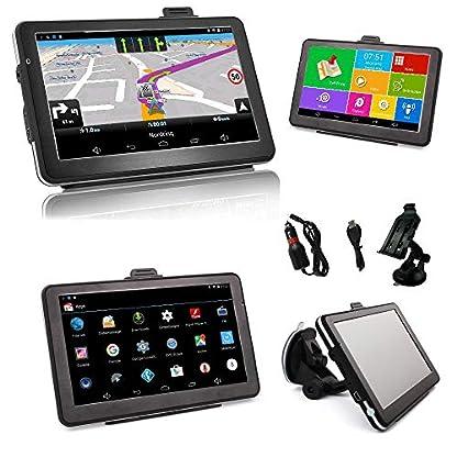 Android-7-Zoll-LKWTruck-PKW-Bus-WOHNMOBIL-und-Camper-Navigationsgert-mit-Android-Radarwarner-Kostenlos-Map-Update-Gefahrgut-WiFi-Bluetooth