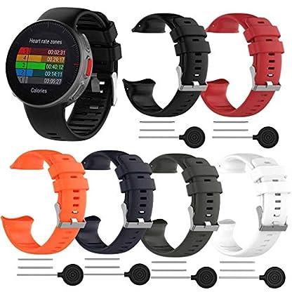 Battnot-Uhrenarmbnder-fr-Polar-Vantage-V-Sport-Atmungsaktive-Silikon-Justierbares-Verstellbare-Handgelenkband-Einstellbarer-Uhrenarmband-Handschlaufe-fr-Damen-Herren-Ersatzband-Watch-Wriststraps