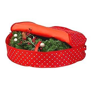 Aufbewahrungstasche-fr-Weihnachtskranz-914-cm-Weihnachts-und-Urlaubskranz-Schneeflocken-Ornament-schtzt-vor-Staub-Feuchtigkeit-und-Schden-whrend-wertvolle-Erinnerungen-erhalten