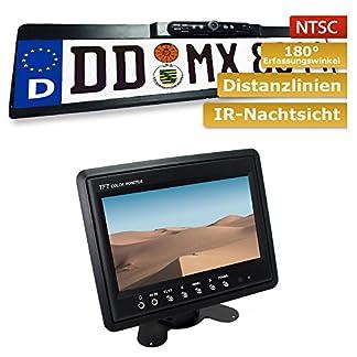 maxxcount-Set-Nummernschild-Rckfahrkamera-Stand-Alone-Monitor-178cm-7-Zoll