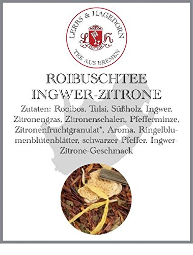 Roibuschtee-INGWER-ZITRONE-2kg