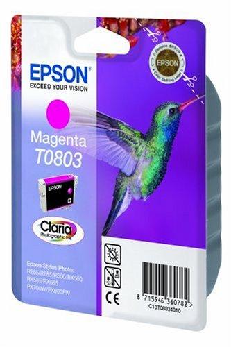 Epson-T0807-Tintenpatronen-Kolibri