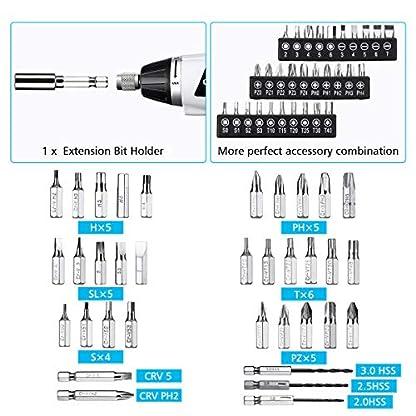 Akkuschrauber-Set-LIUMY-Elektroschrauber-Set-mit-LED-LichtMini-Schrauber36-Bits-36-V-45NmUSB-Ladegert-13Ah-Li-Ion-Akku-mit-Batterieanzeige-fr-Reparatur-lsen-festziehen-der-Schrauben