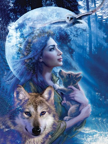 Ravensburger-15414-Wolfsfrau