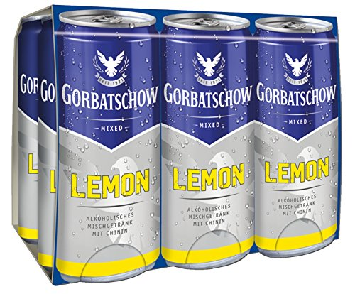 Gorbatschow-Lemon-Wodka-Dose