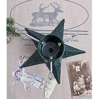 Weihnachtsbaumstnder-Gusseisen-Christbaumstnder-Stern-Landhausstil-Palazzo-Exklusiv