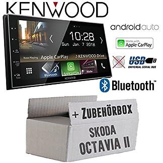 Autoradio-Radio-Kenwood-DMX7018BTS-Bluetooth-AndroidAuto-Apple-CarPlay-Zubehr-Einbauset-fr-Skoda-Octavia-2-1Z-2-JUST-SOUND-best-choice-for-caraudio