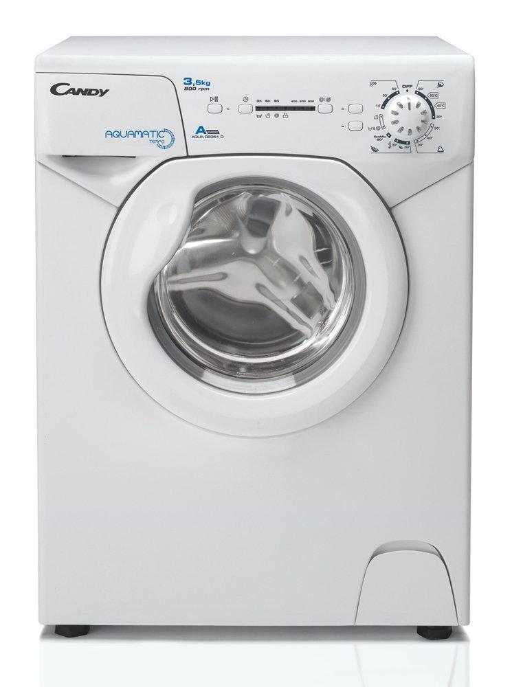 Candy-Aqua-835-1D-Waschmaschine-FLA-147-kWhJahr-800-UpM-35-kg-5800-LJahrnur-44-cm-tiefnur-695-cm-hochsilber