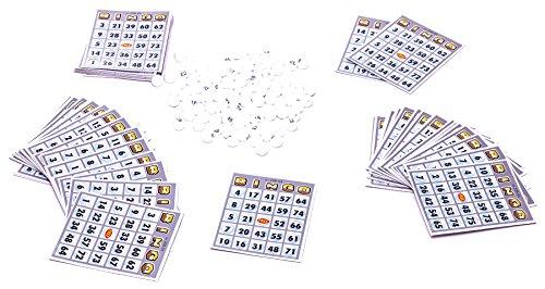 MMP-Living-Bingo-Set-mit-60-Karten-und-96-Bingo-Bllen-Limited-Edition