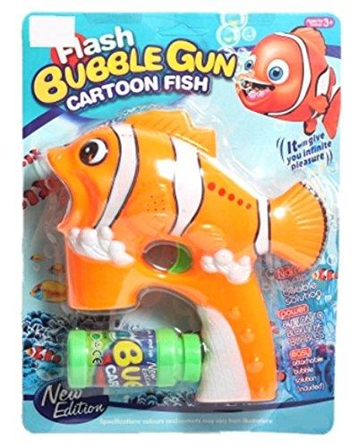 PREMIUM-Disney-Seifenblasenpistole-NEMO-Fisch-Spielpistole-Seifenblasen-Spiel-Pistole-fr-Kinder-mit-hohem-Spafaktor