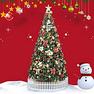 ZAIPP-Deluxe-Verschlsselung-Tmas-bume-Knstlicher-Wunderschne-Scharnier-Weihnachtsbaum-Mit-LED-Ornamenten-Faltstnder