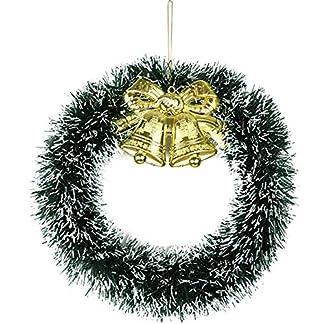 ZXPAG-Weihnachtsgirlande-Krnze-Trkranz-Adventskranz-Kreativer-Bogenrebenring-fr-Deko-Weihnachten-Advent-Trkranz