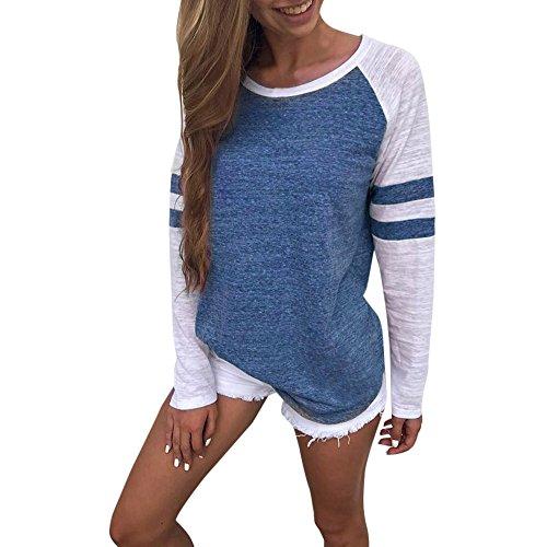 DAYLIN-Sweatshirt-Kleidung-Damen-Mode-Frauen-Damen-Langarm-Splice-Bluse-Tops-Kleidung-T-Shirt-Nhen-Lange-rmel-T-Shirt-Oben