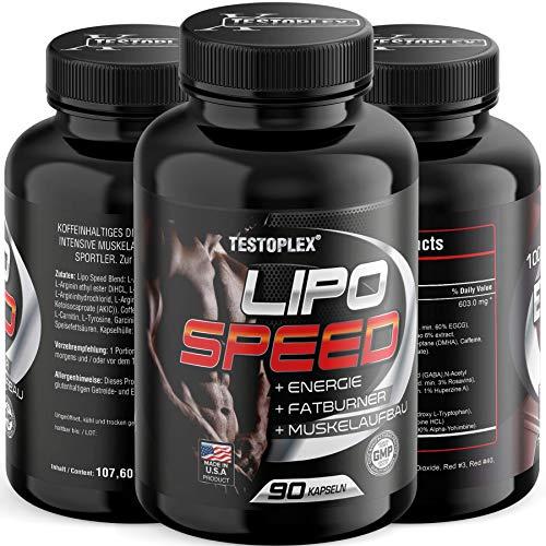 Lipo Speed Ultra Concentrate, Fettabbau, Appetithemmer, Farburner, Diät, Endlich Abnehmen, 24h Fatburner Kapseln – der Turbo für deinen Stoffwechsel! Natürlich abnehmen –