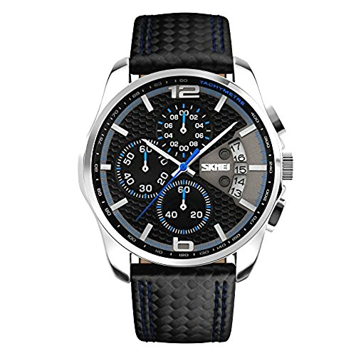 Skmei-Outdoor-Sports-Quartz-Chronograph-Leather-Wristwatches