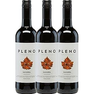 3er-Paket-Pleno-Tempranillo-Tinto-DO-2017-Bodegas-Agronavarra-trockener-Rotwein-spanischer-Wein-aus-Aragonien-3-x-075-Liter