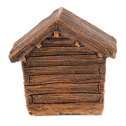 Homyl-Bauernhaus-Farmhaus-Haus-Modell-Miniatur-Zubehr-aus-Harz