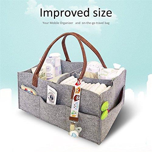 Faltbare Aufbewahrungstasche Box Aufbewahrungsbox Stoff für Buch, Magazin, Spielzeug, Handy, Kopfhörer