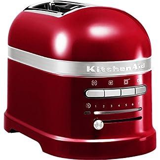 Kitchenaid-5KMT2204ECA-Artisan-Toaster-fr-2-Scheiben-Liebesapfel-rot-220-240-V-50-60-Hz
