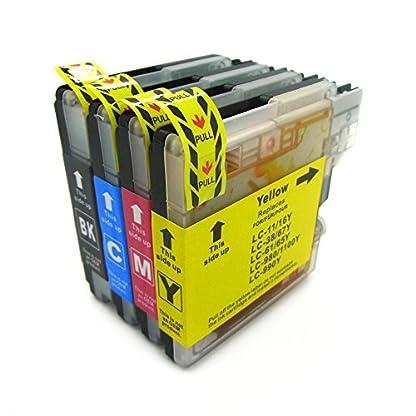 DC-Druckerpatronen-kompatibel-fr-Brother-LC-9801100-DCP-185CDCP-385CDCP-395CNDCP-585CWDCP-6690CWDCP-J615W-DCP-J715WMFC-490CWMFC-5490CNMFC-5895CWMFC-6890CDWMFC-795CWMFC-990CW