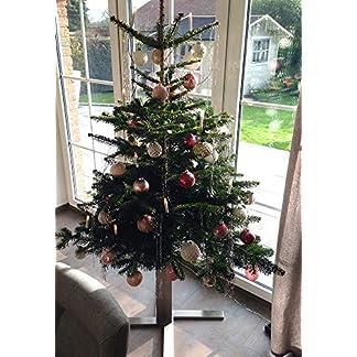 Tannenbaumstnder-Edelstahl-4-Bein-Kreuz-H-400-Christbaumstnder-Weihnachtsbaumstnder-Weihnachtsbaum-Halter-Baumstnder-1-Stck