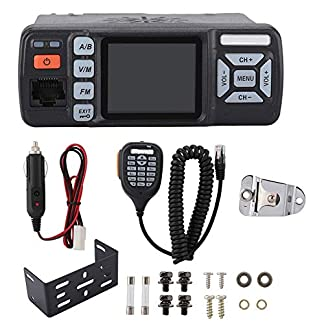 Garsent-Mini-Mobilgert-Dualband-400-470MHz-Auto-Walkie-Talkie-Funkgert-Amateurfunk-Car-Transceiver-Radio-fr-BAOJIE-BJ-318
