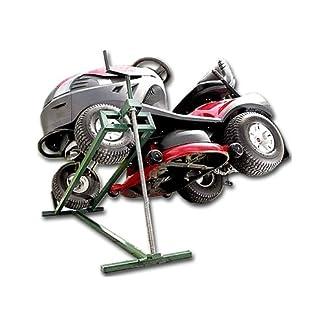 Hebevorrichtung-Reinigungshilfe-Rasentraktor-Heber-Aufsitzmher-Mowerlifter