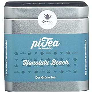 Pi-Tea-Honolulu-Beach-Dose-Grner-Tee-Teestation-natrlich-und-vegan-2er-Pack-2-x-75-g