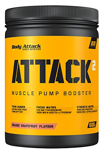 Body Attack ATTACK² , Grapefruit, 600 g
