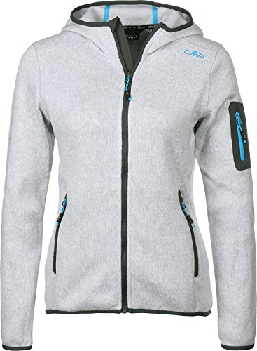 CMP Damen Strick Fleece Kapuze Jacke