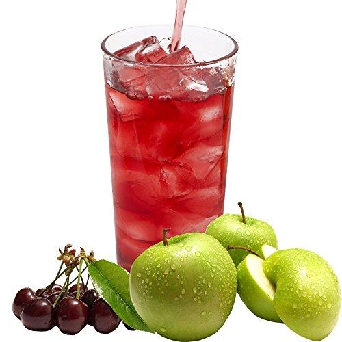 Apfel Sauerkirsche Geschmack extrem ergiebiges Getränkepulver für Isotonisches Sportgetränk Energy-Drink ISO-Drink Elektrolytgetränk Wellnessdrink