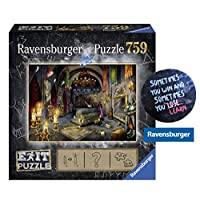 EXIT-759-Teile-Ravensburger-Puzzle-199556-6-Im-Vampirschloss-1-Cooler-Sticker-Sometimes-You-Win-by-Collectix-gratis