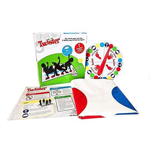 COSMOERY-Twister-Kinderspiel-Twister-Spielmatte-Bodenmatte-Familienspiel-Partyspiel-lustiges-Spiel-Geschicklichkeitsspiel-fr-Kinder-Erwachsene