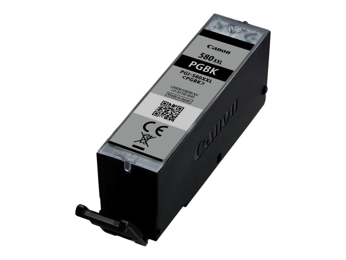 Canon-PGI-580-BK-XXL-original-Tintenpatrone-Pigmentschwarz-fr-Pixma-Drucker-PIXMA-TR7550-TR8550-TS6150-TS8150-TS9150-TS6250-TS8250-TS9550