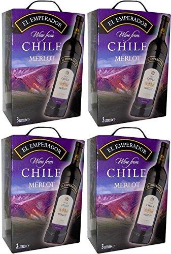 4-x-EL-EMPERADOR-MERLOT-CHILE-Bag-in-Box-3-Liter-125-vol-Incl-Goodie-von-Flensburger-Handel