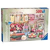 Ravensburger-Vintage-Tea-Party-Puzzle-500-Teile