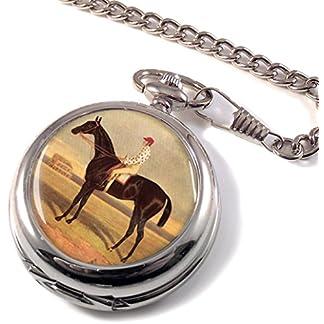 Rennpferd-Voltigeure-von-Herring-Full-Hunter-Taschenuhr