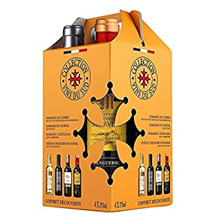 Collection-Vins-du-Sud-Mischpaket-Sdfrankreich-4-x-0375-l