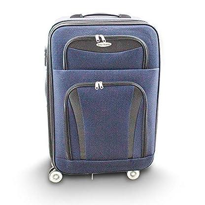 Kofferset-2-teilig-M-L-Reisekoffer-Trolley-Stoffkoffer-Softcase-Teleskopgriff-Modell-Traveler-Line