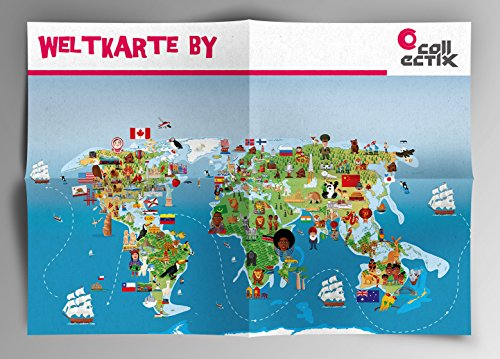 Ravensburger-tiptoi-Entdecke-Den-Flughafen-Kinder-Weltkarte-Lnder-Tiere-Kontinente