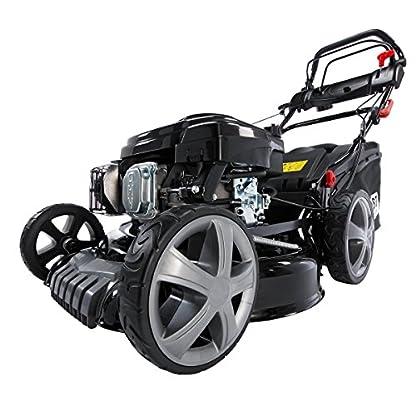 Benzin-Rasenmher-BRAST-4-in-1-18196-44kW-6PS-incl-Selbstantrieb-GT-Markengetriebe-kugelgelagerte-Big-Wheeler-Rder-Stahlblechgehuse-Easy-Clean