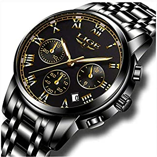LIGE-Uhren-Herren-wasserdichte-Edelstahl-Chronograph-Sport-Analog-Quarzuhr-Mnner-Luxusmarke-Mode-Armbanduhr-Mann