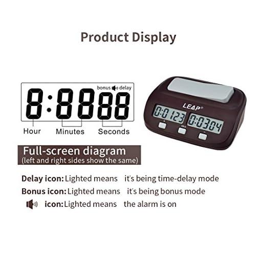 i-Sure-Digitale-Schachuhr-Count-Up-Down-Schach-Timer-Alarm-Funktion-Elektronische-Brettspiel-Timer-Uhr
