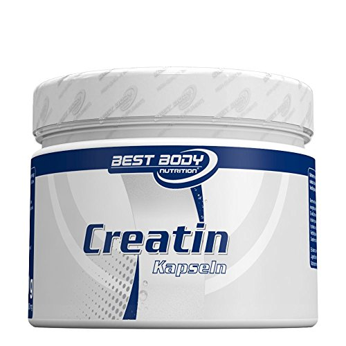 Best Body Nutrition Creatin Kapseln, 200 St. Dose, 1er Pack (1 x 200 g)