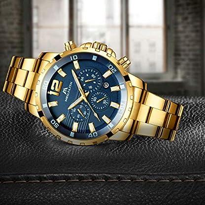 Herren-Uhr-Mnner-Wasserdicht-Luxus-Chronographen-Gold-Edelstahl-Groes-Armbanduhr-Mann-Business-Sport-Mode-Designer-Blau-Analog-Datum-Leuchtende-Uhren
