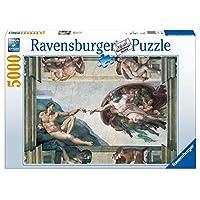Ravensburger-Michelangelo-Die-Erschaffung-des-Adam-5000-Teile-Puzzle