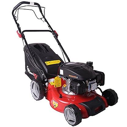 GartenXL-16L-123-M3-Benzin-Rasenmher-Selbstantrieb-Motormher-40cm-Mhen-Sammeln-Mulchen-Radantrieb-Q-clean-TV-GS