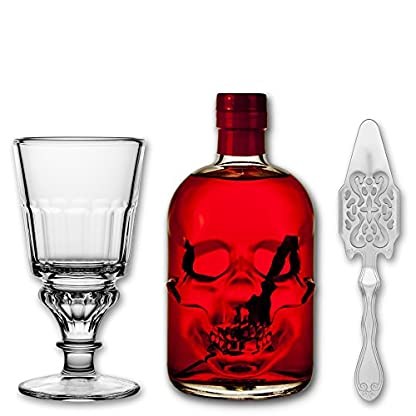Red-Chili-Head-Absinthe-05l-1x-Absinth-Glas-Pontarlier-1x-Absinth-Lffel-Antique