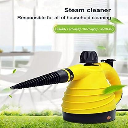 Dampfreiniger-HomeYoo-1050W-Handdampfer-Dampfente-Steam-cleaner-300-ml-Wasserbehlter-Handdampfreiniger-fr-Bad-Fliesen-Boden-Fenster-Teppich-Autositze